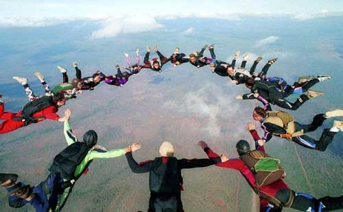 skydiving California