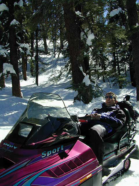 California Snow Mobiling Areas