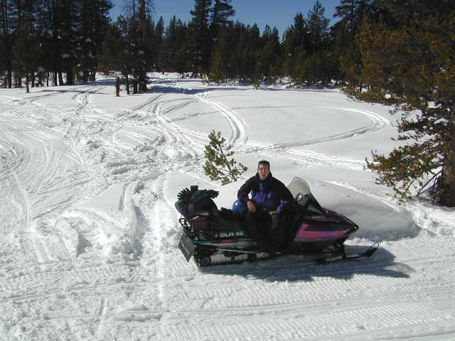 sierra snow mobiling
