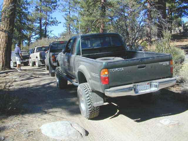 Big Bear Wheelin Tacomas