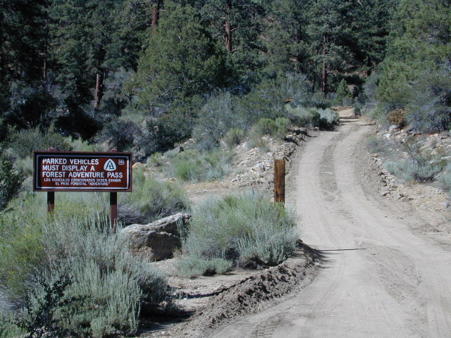 Big Bear Dirt Roads