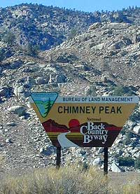 Chimney Peak Backcountry Byway