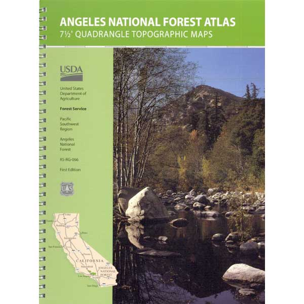 Angeles Forest Topographic Map