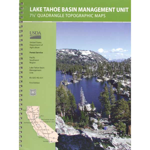 Tahoe Topographic Map