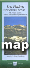 Los Padres National Forest Maps