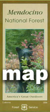 Mendocino Forest Maps