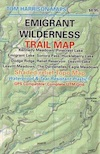 Emigrant Wilderness Trail Map
