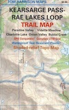 Rae Lakes Loop Map
