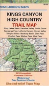 Kings Highcountry Topo Map