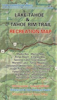 Lake Tahoe Recreation Map