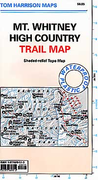 Mount Whitney Topo Map