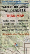 San Gorgonio Trail Map