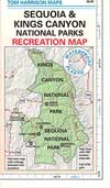 Sequoia Kings Canyon Map