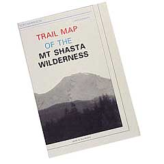 shasta hiking map