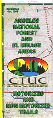 Angeles Forest OHV Map