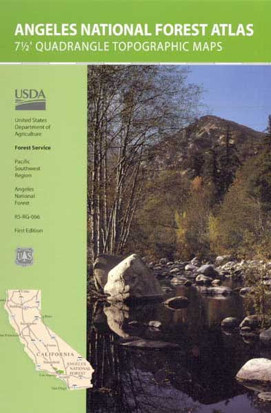 Topo Atlas Angeles Forest