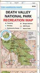 Death Valley NP Map