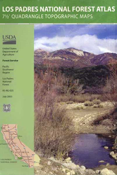 Topo Atlas Los Padres Forest