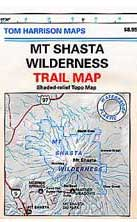 Mount Shasta Wilderness Trail Map