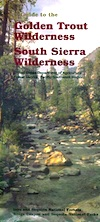 Golden Trout Wilderness/South Sierra Map