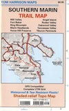 Southern Marin Hiking Map