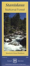 Stanislaus National Forest Map USDA