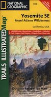 Yosemite Ansel Adams Map