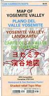 Yosemite Valley Trail Map
