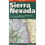 Sierra Mountains Map