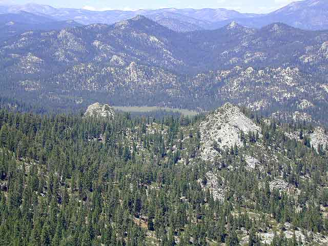 Dome Land from Bald Mtn, KERN