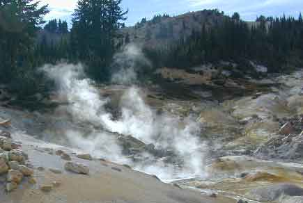 Sulfur Steam Lassen Park
