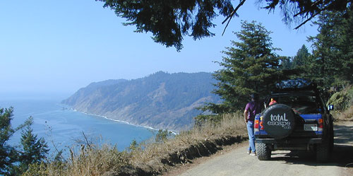 Coastal Dirt Roads California