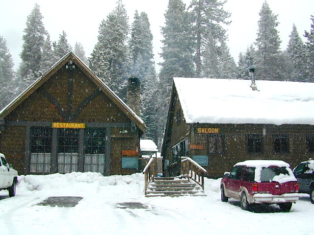 California Snowy Saloon