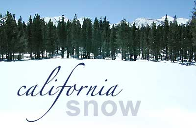 California Snow Recreation