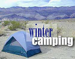 Winter Camping Desert