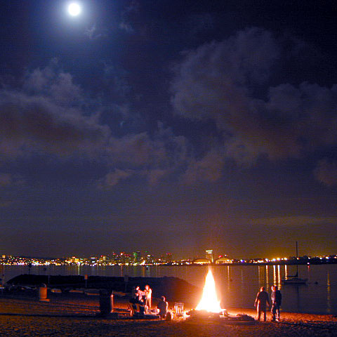 San Diego Camping