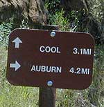 HIking to Cool California