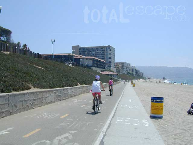 California Beach Bike Path
