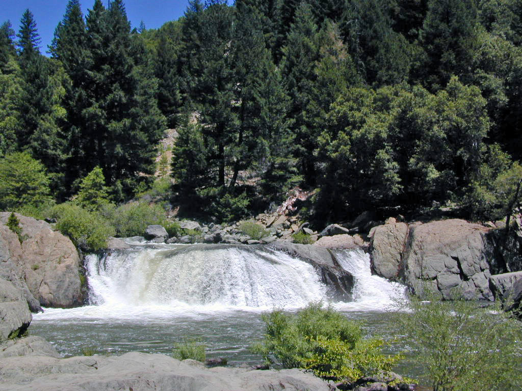 Plumas National Forest Maps Northern California Camping - California waterfalls map