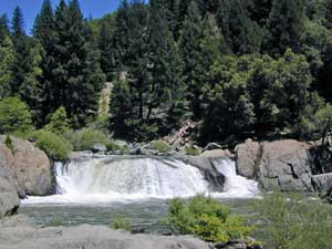 Quincy Waterfalls