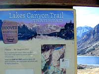 Lakes Canyon Trailhead
