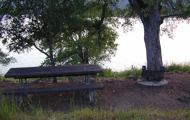 Walk-In Camp Site at Lake