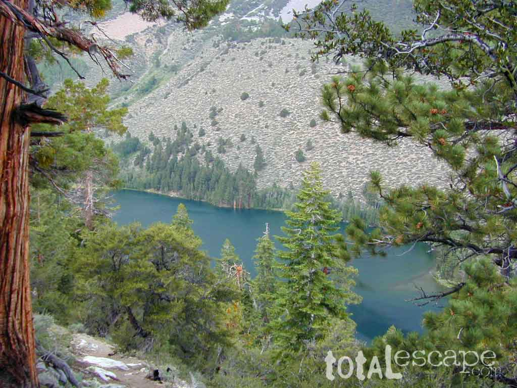 Hike-in only, Walker Lake