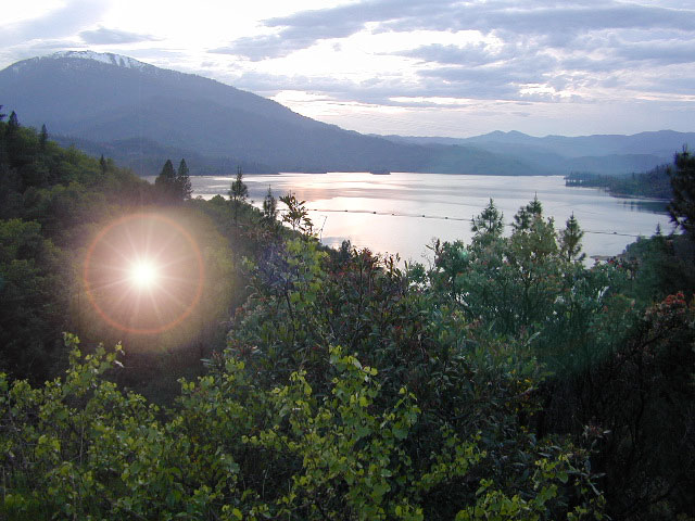 Lake Sunset Whiskeytown
