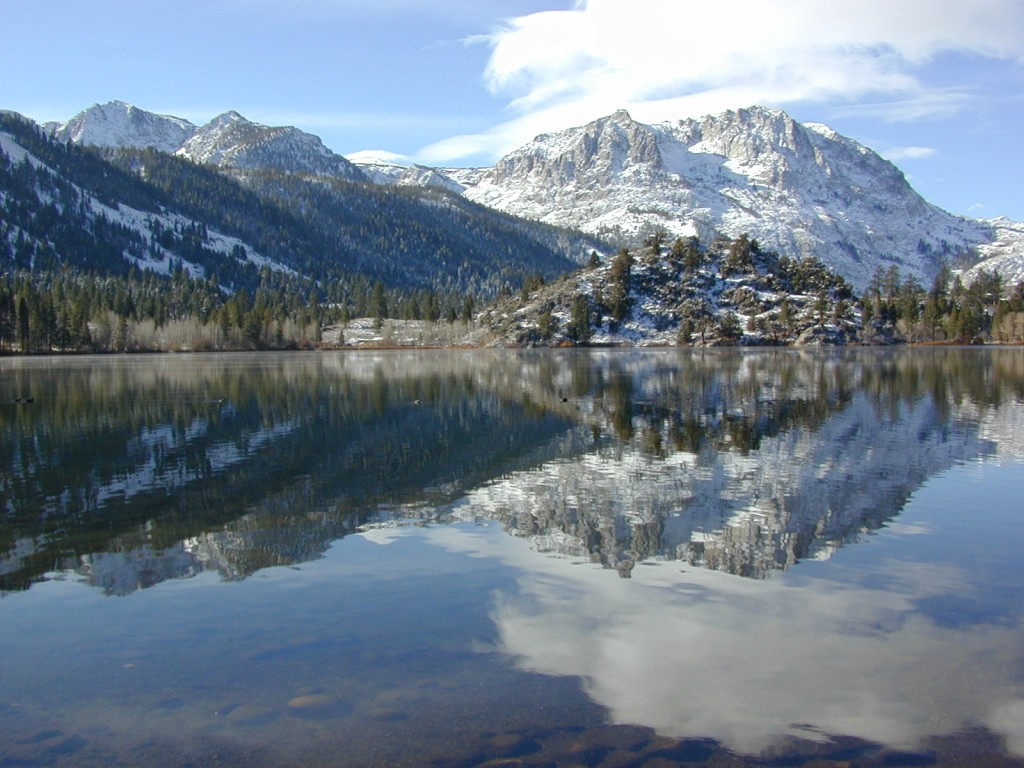 Eastern sierra lakes total escape for Campsites with fishing