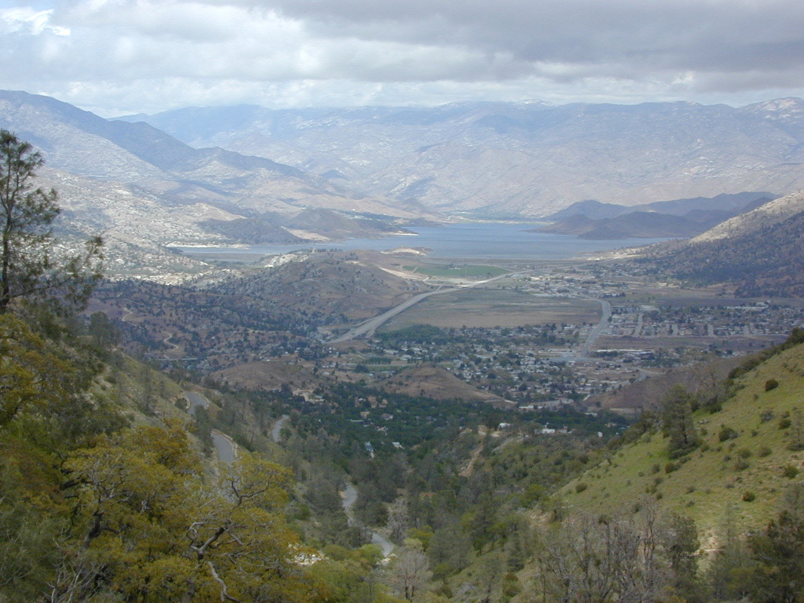 Lake Isabella, Kern River Canyon