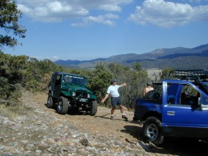 Wheelin near Big Bear Lake