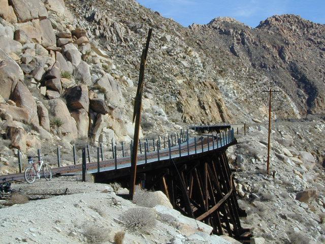 Goat Trestle Anza Borrego Desert