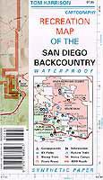 San Diego Desert Map