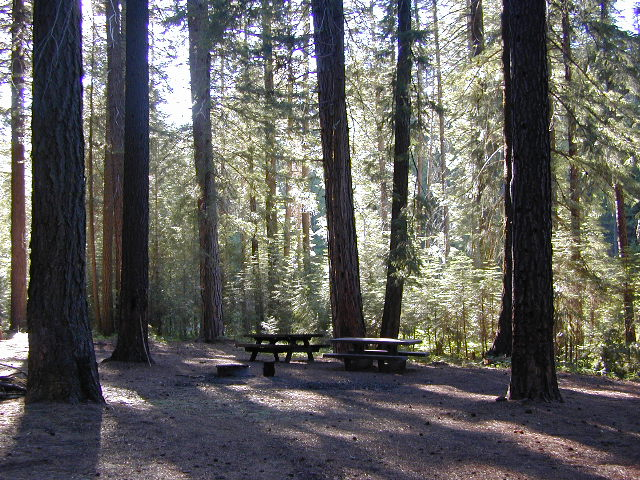 Snake Lake Campground near Quincy, California